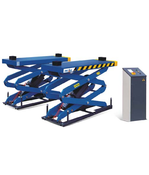 FLUSH-MOUNT SCISSORS LIFT